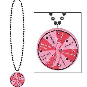 NWT Bachelorette Bead Necklace Spinner Game